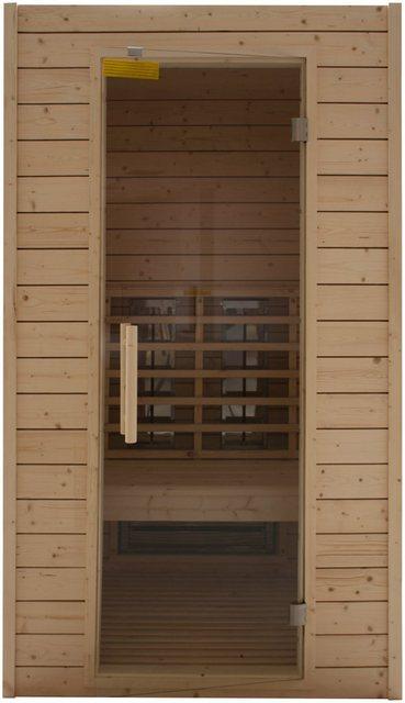 Saunen und Zubehör - RORO SAUNA SPA Infrarotkabine »Typ 100«, 113x102x198 cm  - Onlineshop OTTO