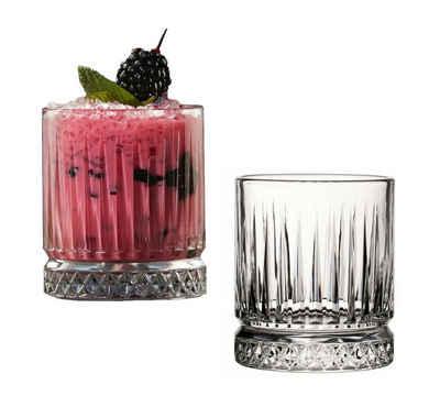 Pasabahce Whiskyglas »Elysia Whisky Trinkglas 35,5 cl - 11 3/4 oz - 4 Stück - Vintage Style - Ideal für Longdrinks und Softdrinks«