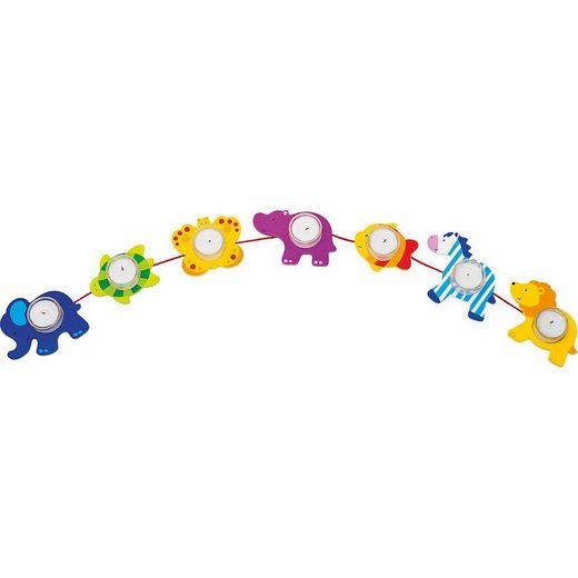 goki Kerzenständer »Geburtstagskette Tiere«