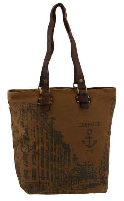 HARBOUR 2nd Shopper »Pauli«, mit Lederhenkel