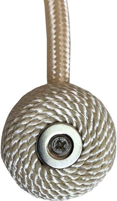 Magnethalter für Gardinen »Magentraffhalter SET«, Home Basics, Gardinen, Vorhänge, Dekoschals, Ösenvorhänge, Seitenschals, (2-St)