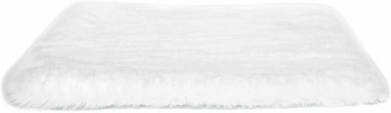 Andiamo Stuhlkissen »Novara«, Sitzauflage, Sitzfell, eckig, 40x40 cm, Kunstfell, auch als 4er Set bestellbar
