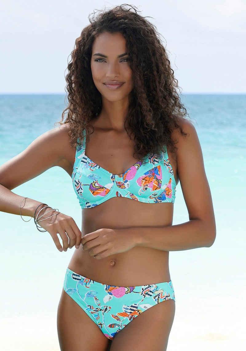 Sunseeker Bügel-Bikini-Top »Jam«, mit farbigem Print