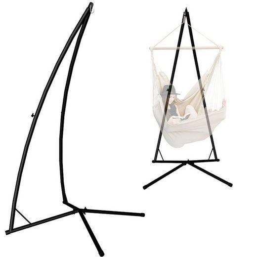 AMANKA Hängemattengestell »Hängestuhlgestell EPR-HSG-130«, Gestell bis 120 kg schwarz
