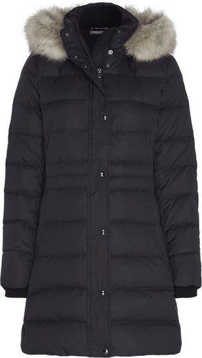 TOMMY HILFIGER Steppmantel »TH ESS TYRA DOWN COAT WITH FUR«