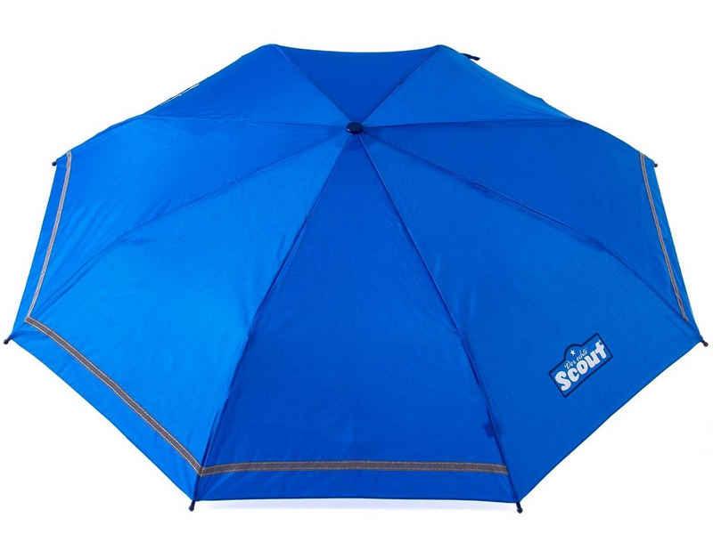 Scout Taschenregenschirm, mit Reflektorband