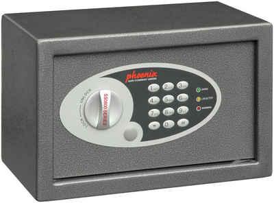 Phoenix Tresor »Vela Home & Office Safes SS0801E«, elektronisches Tastenschloss, Innenbeleuchtung, Innenmaße B/T/H: 30,5x16x19,5 cm