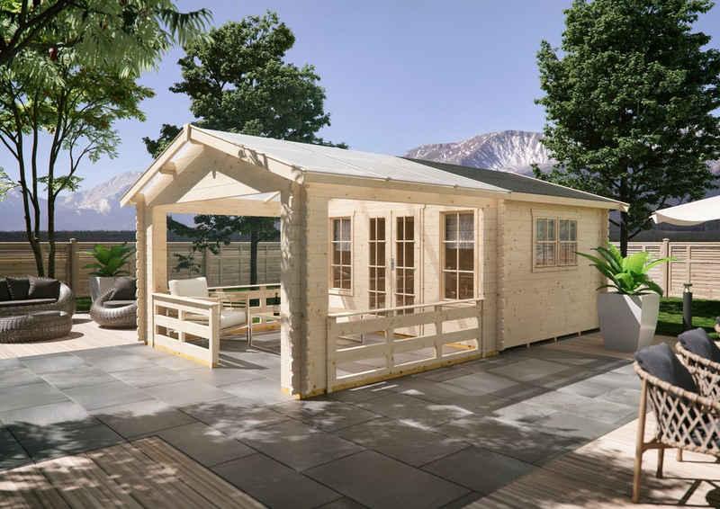 Skanholz Gartenhaus »Holmestrand«, BxT: 420x650 cm