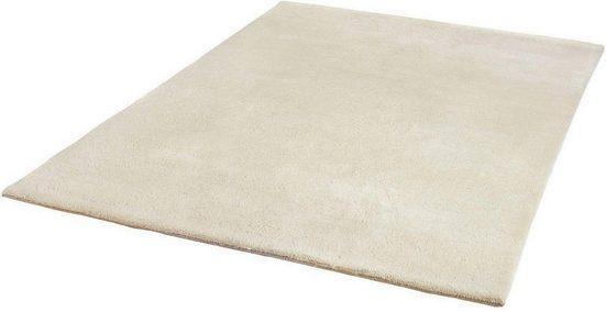 Wollteppich »Ruth«, Dekowe, rechteckig, Höhe 18 mm, Berber-Optik, reine Wolle, Wohnzimmer