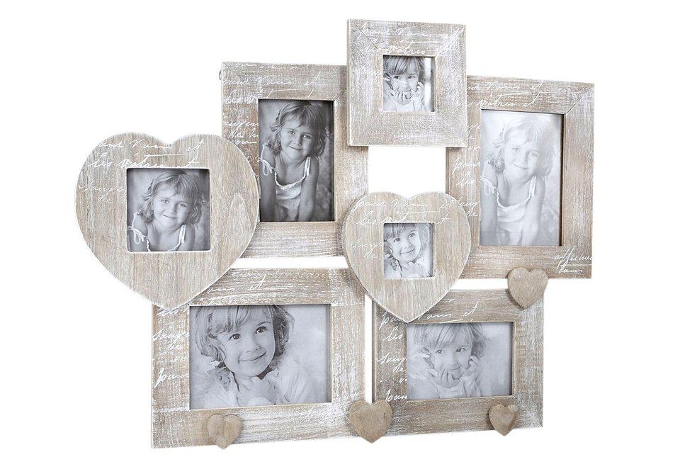 Home affaire Portraitrahmen »Le Coeur« in natur