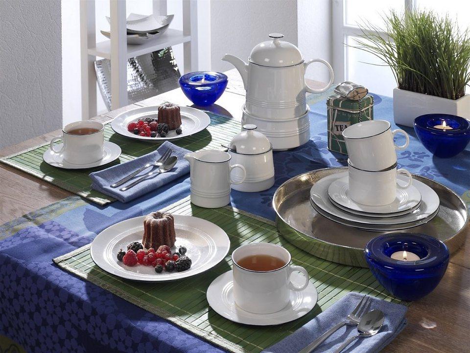 Friesland Teeservice »Jeverland, 16-teilig« in blau