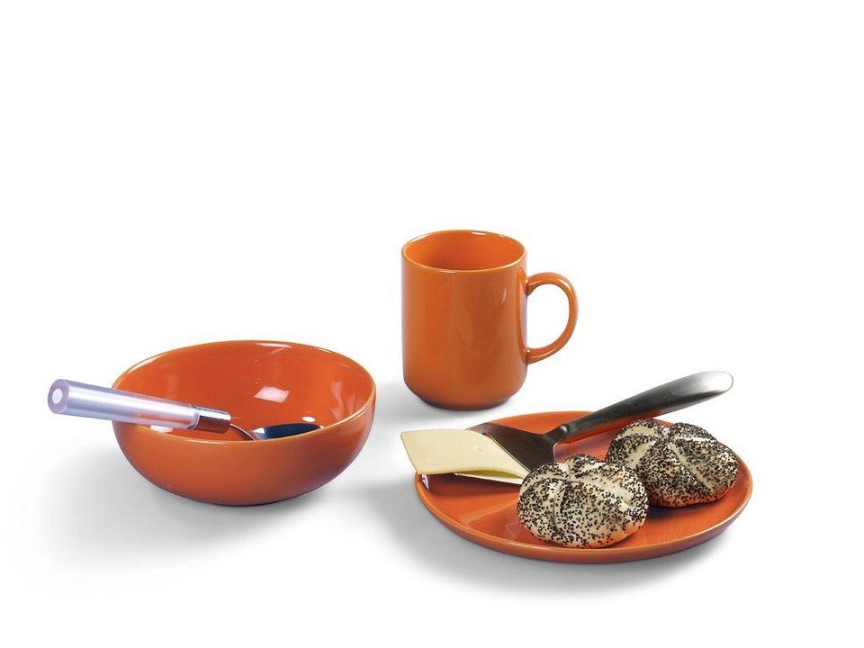 Friesland Frühstücksset »Happymix, 3-teilig« in orange