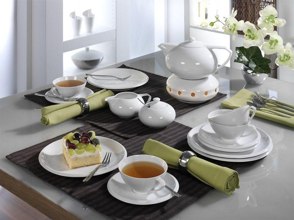 Friesland Teeservice »Ecco, 16-teilig« in weiß