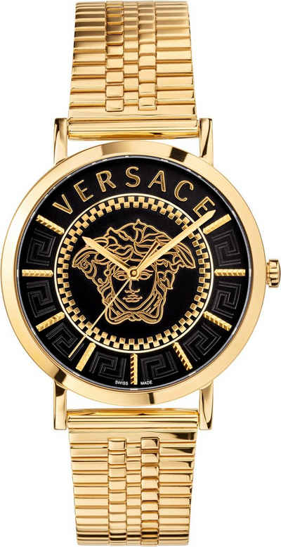 Versace Schweizer Uhr »V-ESSENTIAL 40 mm, VEJ400521«