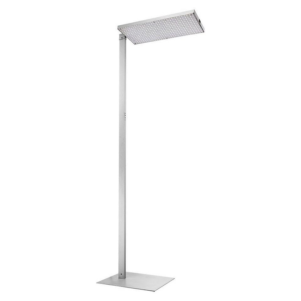licht trend led stehlampe bewegungssensor 21w alu. Black Bedroom Furniture Sets. Home Design Ideas