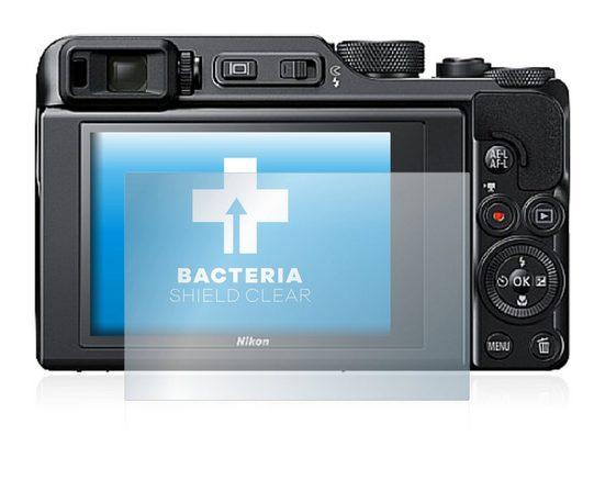 upscreen Schutzfolie »für Nikon Coolpix A1000«, Folie Schutzfolie klar antibakteriell