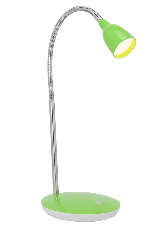 LED-Tischlampe, Brilliant Leuchten, in 5 Farben in grün