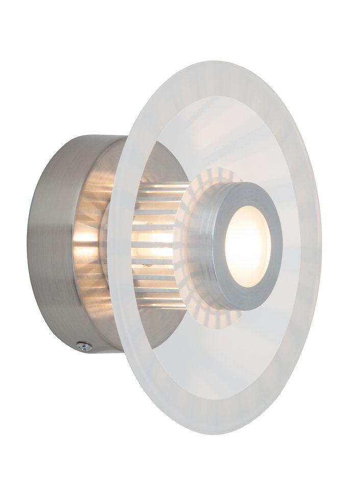 Wandlampe, Brilliant Leuchten in grau