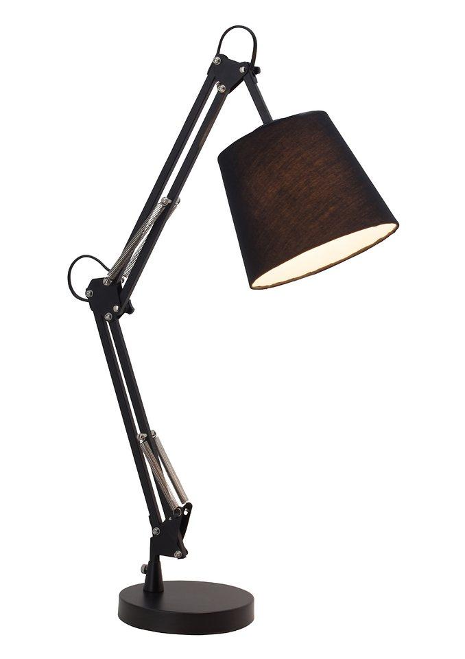Tischlampe, Brilliant Leuchten in schwarz