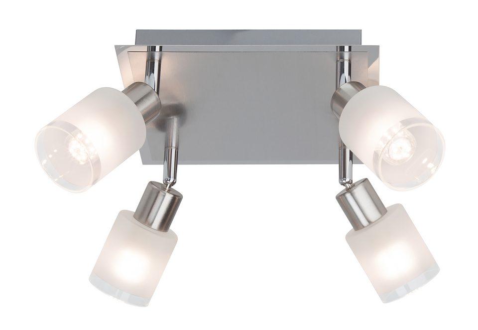LED-Deckenleuchte (4-flg.), Brilliant Leuchten