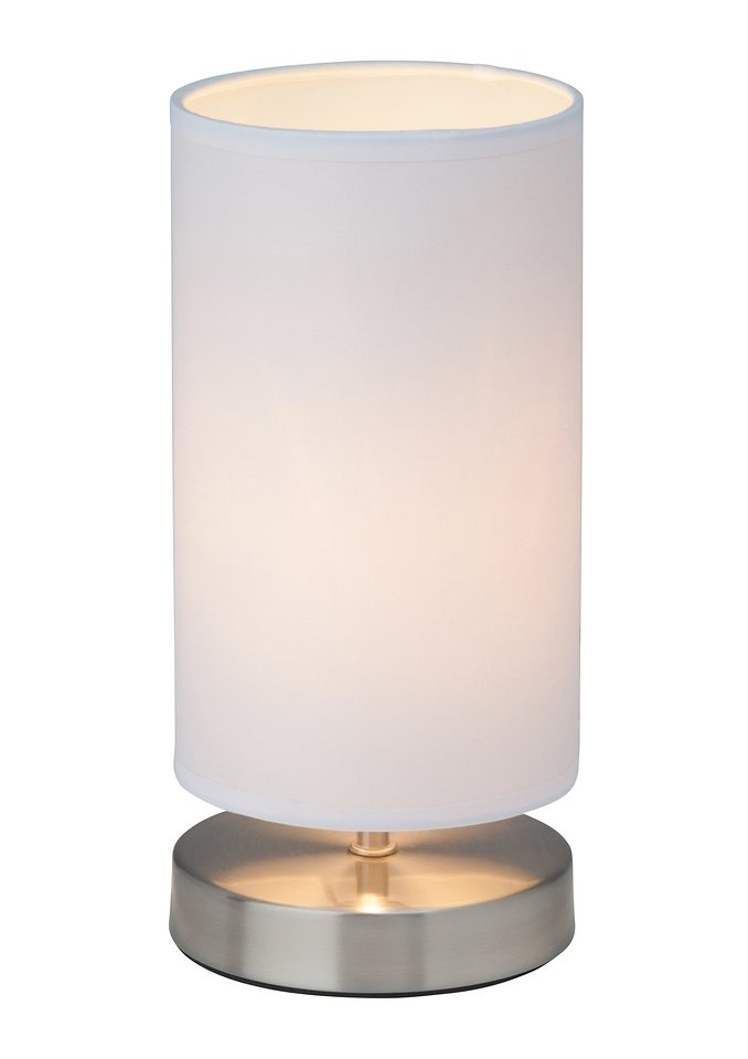Tischlampe, Brilliant Leuchten in weiß