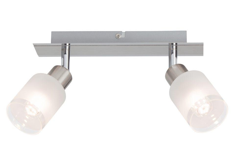 LED-Deckenleuchte (2-flg.), Brilliant Leuchten