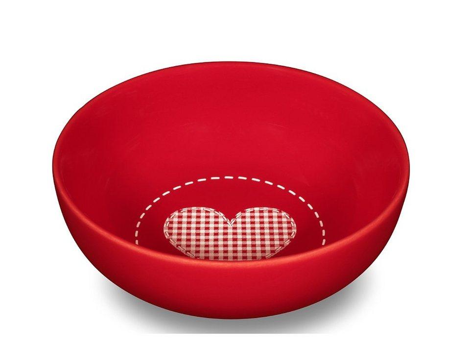 Friesland M?slischale »Happymix, 15 cm« in rot