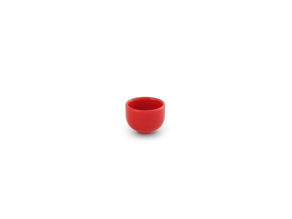 Friesland Eierbecher »Happymix, H 4 cm« in rot