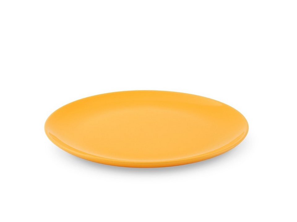 Friesland Speiseteller »Happymix, 25 cm, 4er Set« 4-tlg in gelb