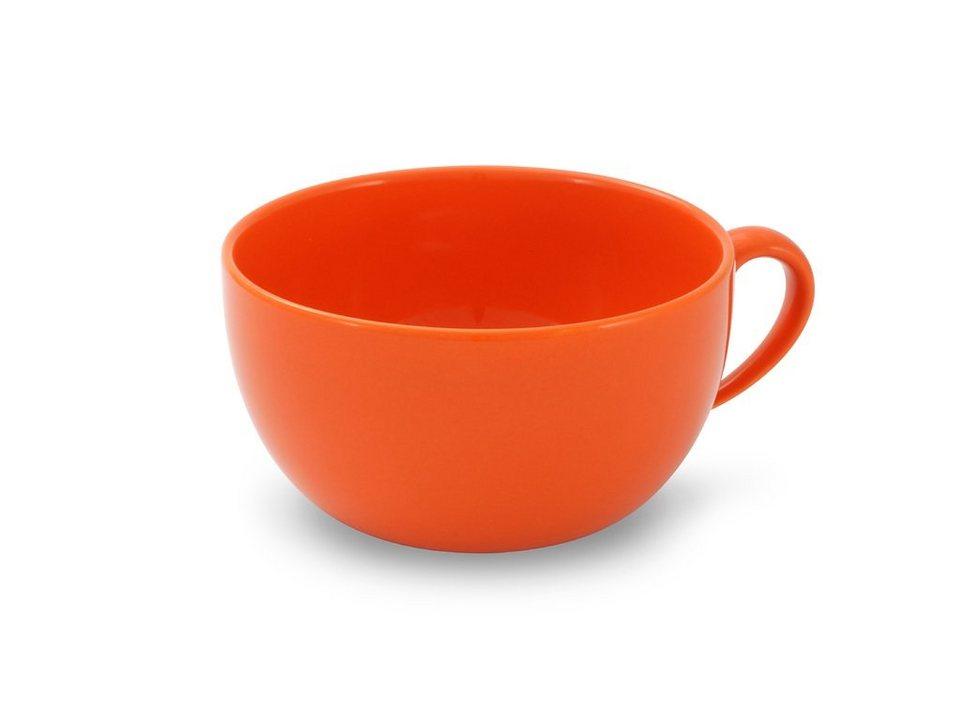Friesland Obertasse »Happymix, 0,56l, 4er Set« 4-tlg in orange