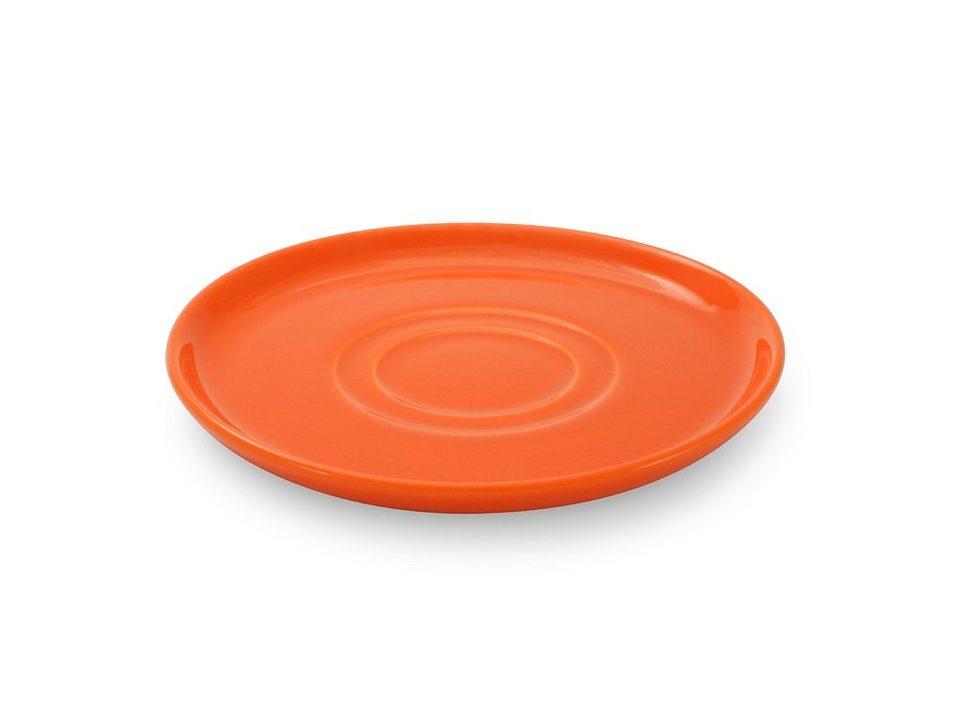 Friesland Untertasse »Happymix, 15 cm, 4er Set« 4-tlg in orange