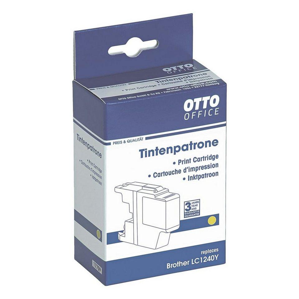 otto office standard tintenpatrone ersetzt brother lc1240y online kaufen otto. Black Bedroom Furniture Sets. Home Design Ideas