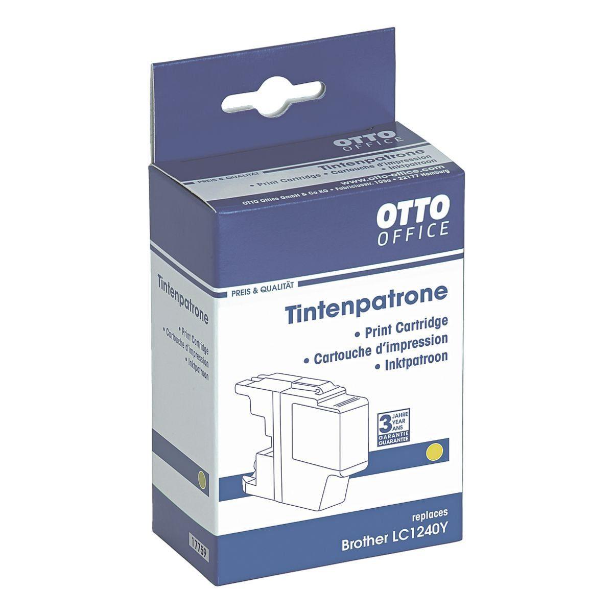 OTTO Office Standard Tintenpatrone ersetzt Brother »LC1240Y«