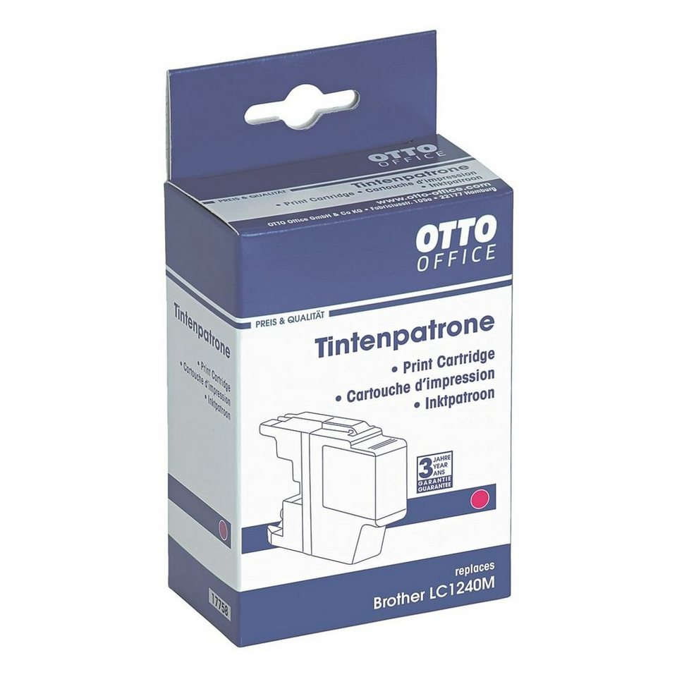 OTTO Office Standard Tintenpatrone ersetzt Brother »LC1240M«