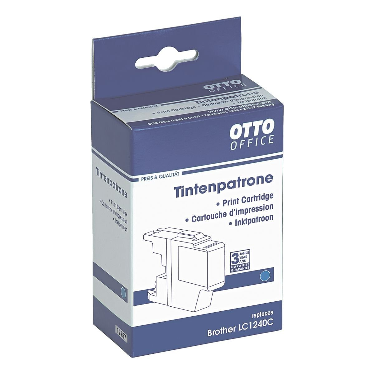 OTTO Office Tintenpatrone ersetzt Brother »LC1240C«