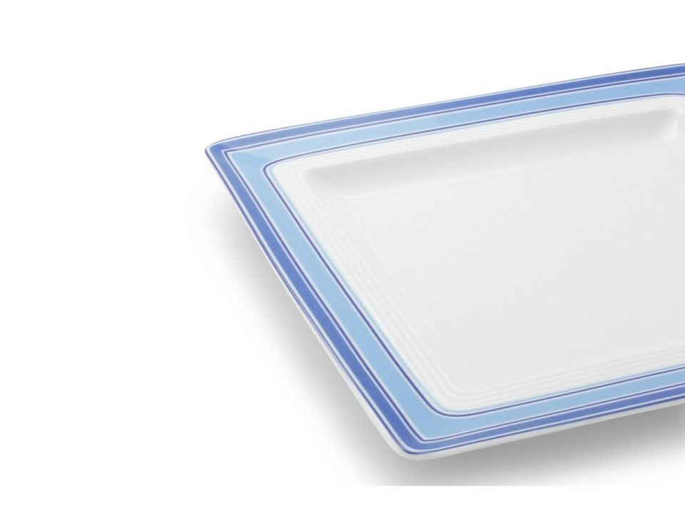 Friesland Fr?hst?cksteller »Jeverland, 21,5x21,5 cm« in blau