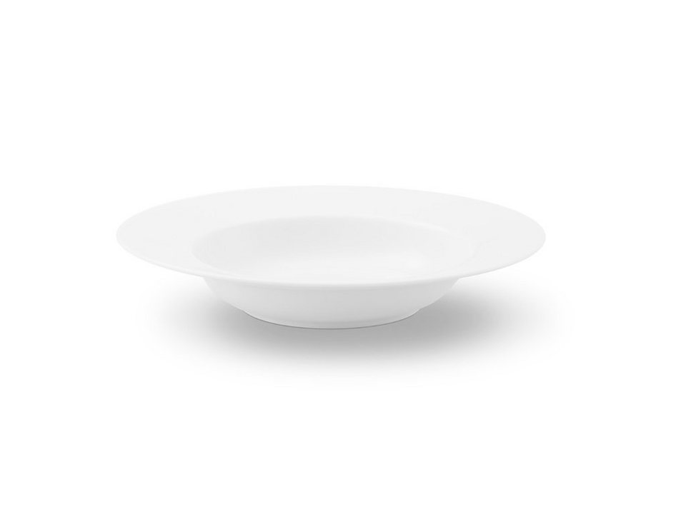 Friesland Suppenteller »La-Belle, 22 cm, 4er Set« 4-tlg in weiß