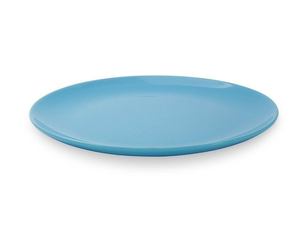 Friesland Speiseteller »Happymix, 25 cm, 4er Set« 4-tlg in blau