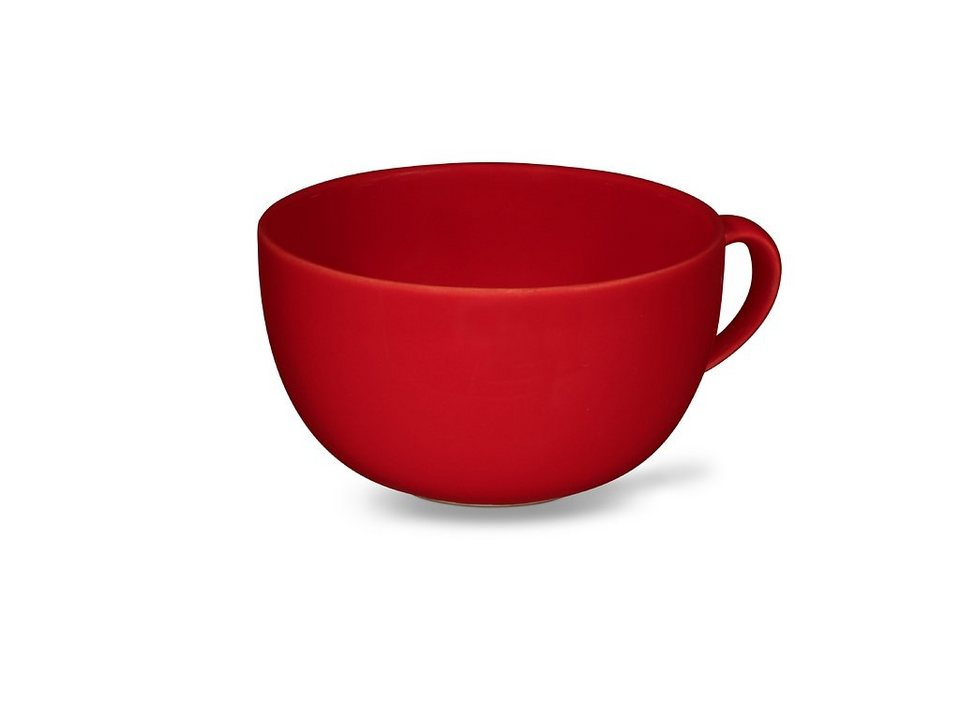 Friesland Obertasse »Happymix, 0,56l, 4er Set« 4-tlg in rot