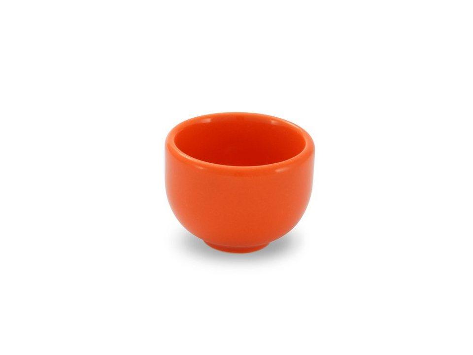 Friesland Eierbecher »Happymix, H 4 cm, 4er Set« 4-tlg in orange
