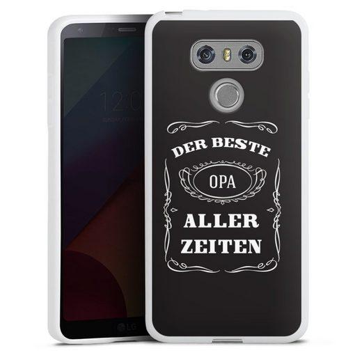 DeinDesign Handyhülle »Bester Opa« LG G6, Hülle Familie Opa Sprüche