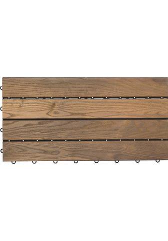 florco ® Terrassenplatten »XL« 30x60 cm 6-St....