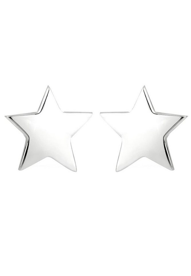 Elli Ohrringe »Ohrstecker Stern« in Silber