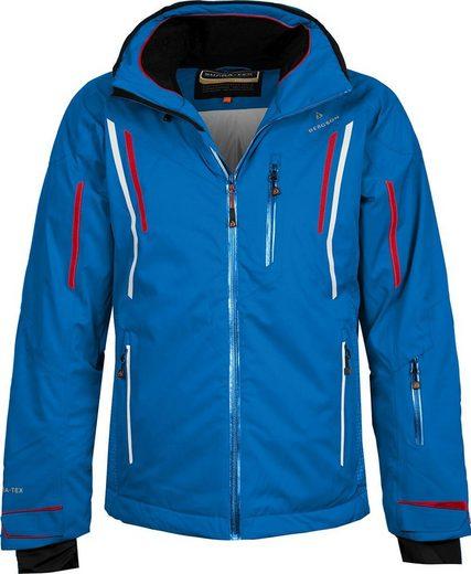 Bergson Skijacke »RILEY« wattierte Herren Skijacke mit 20.000er Wassersäule, Kurzgrößen, blau