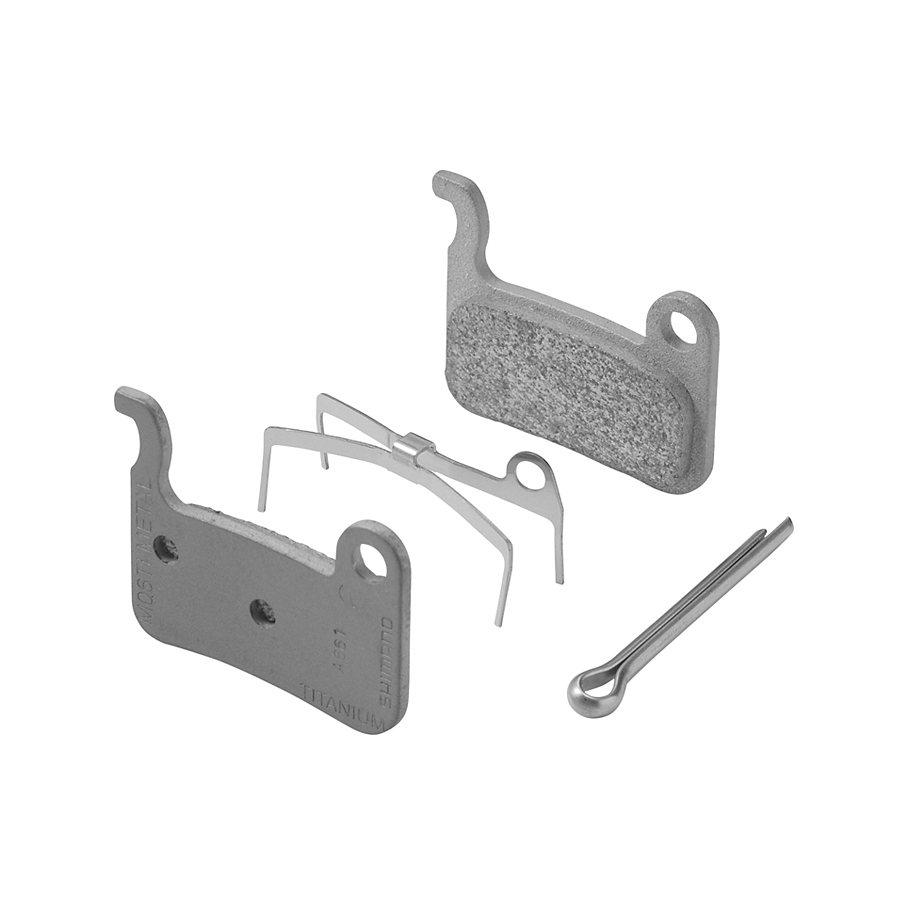Shimano Bremsbelag »M06TI Scheibenbremsbelag Metall«