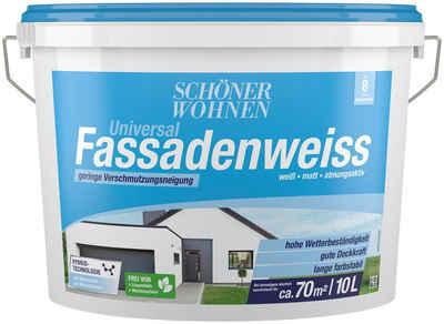 SCHÖNER WOHNEN-Kollektion Fassadenfarbe »Universal-Fassadenweiss 10,0L«