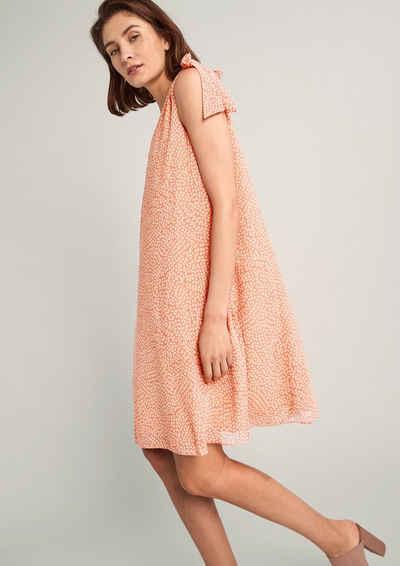 Comma Minikleid »Kurzes Kleid in A-Linie« Schleife