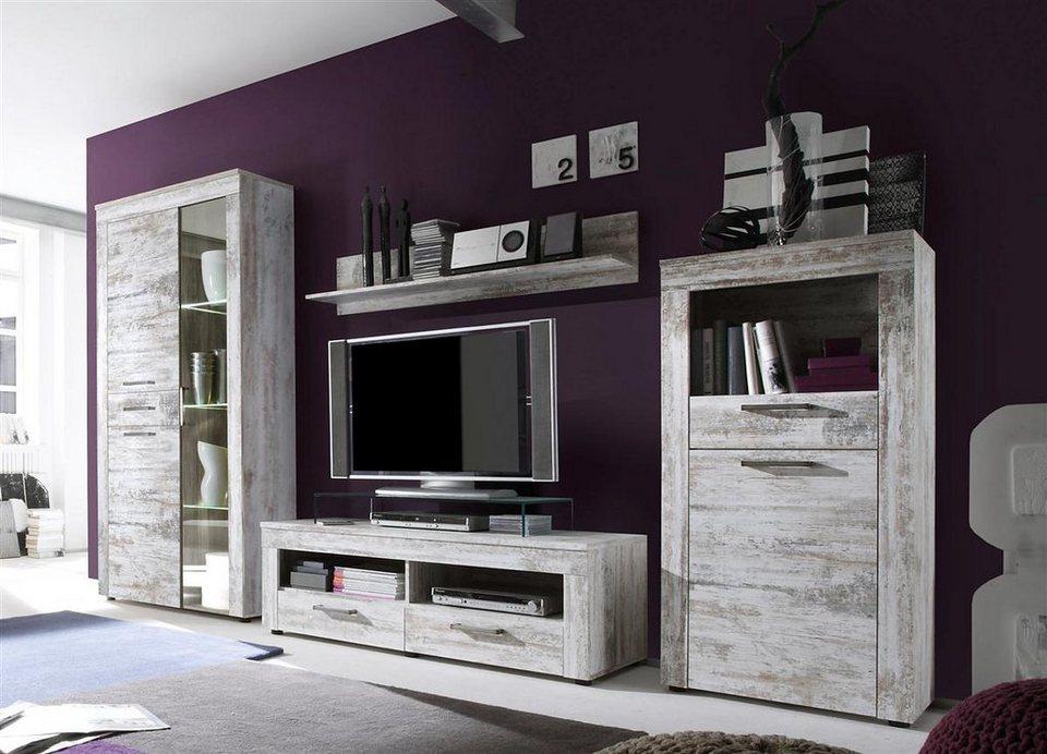 kasper wohndesign regal klein pinie weiss kanada otto. Black Bedroom Furniture Sets. Home Design Ideas