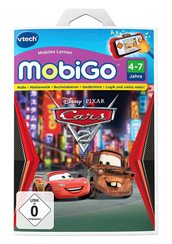 VTech Lernspiel, »MobiGo2, Cars 2«