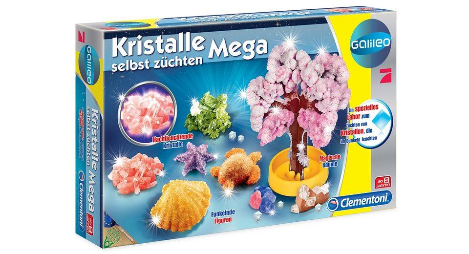 Clementoni, Galileo Kristalle selbst züchten - Mega